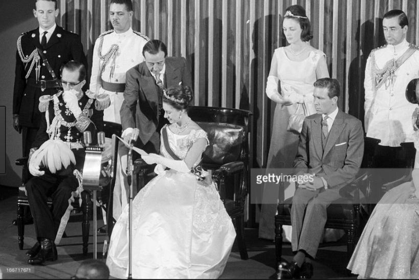 Jamaica Parliament - Princess Margaret 1962