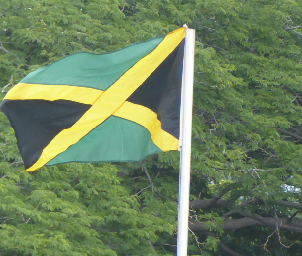 Remembrance Day 2018 - Jamaican flag